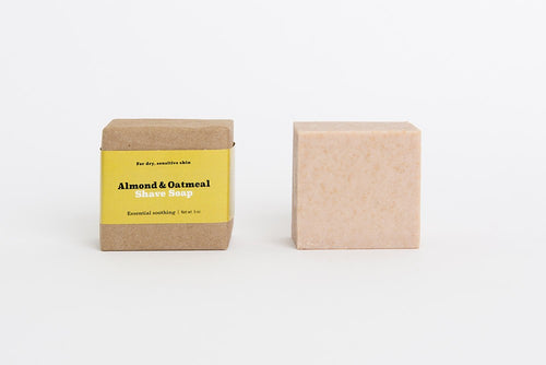 Almond + Oatmeal Shave Soap