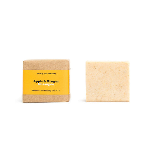 Apple + Ginger Shampoo Bar