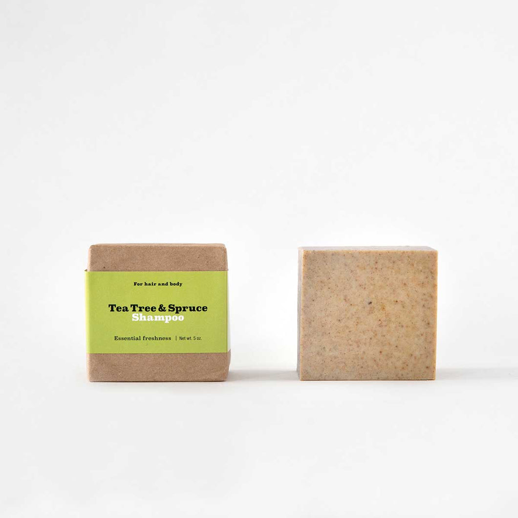 Tea Tree + Spruce Shampoo Bar