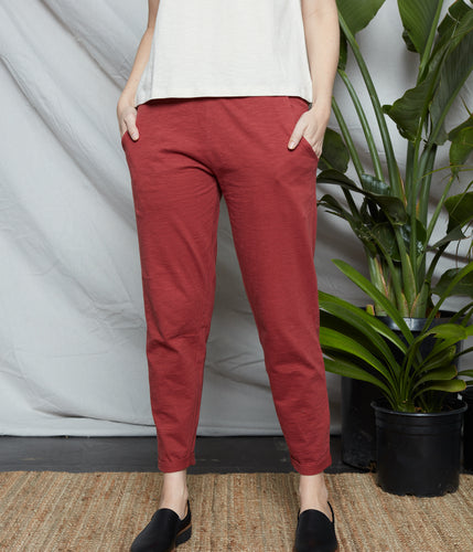 Known Supply Sequoia Pant - Cranberry