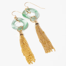 Load image into Gallery viewer, Metal Tassel Earrings