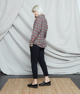 Known Supply Wilder Flannel - Cinnamon/Gray