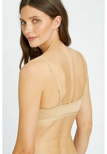 Soft Bra Top - Almond
