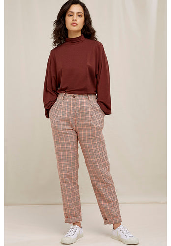 People Tree Annis Houndstooth Trousers