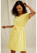 Load image into Gallery viewer, Ashby Stripe Dress - Yellow