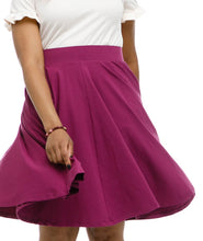 Load image into Gallery viewer, Audrey Circle Skirt - Boysenberry