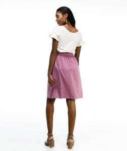 Callie Skirt - Mulberry