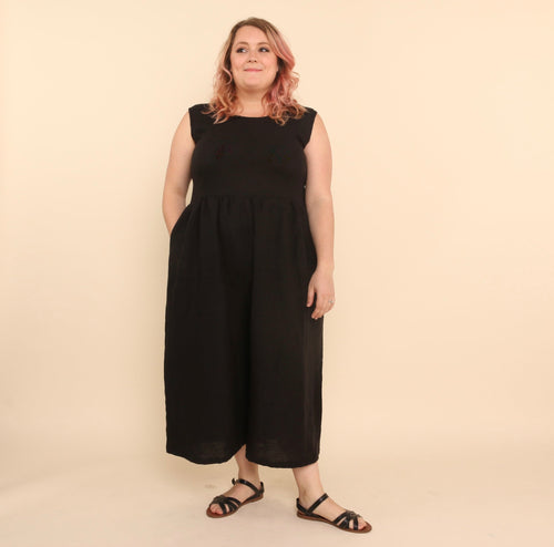 Backyard Jumpsuit - Black