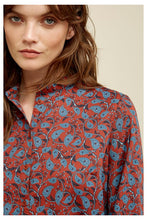 Load image into Gallery viewer, Fair Trade Tencel Print Blouse