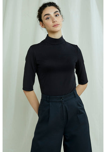People Tree Cecily Turtleneck Top - Fair Trade