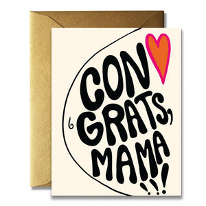 The Rainbow Vision Card - Congrats Mama Newborn Card