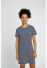 Load image into Gallery viewer, Cornelia Stripe Tunic - Navy