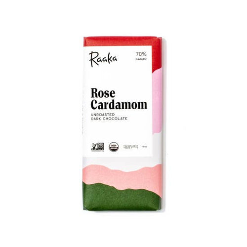 Rose Cardamom Chocolate Bar