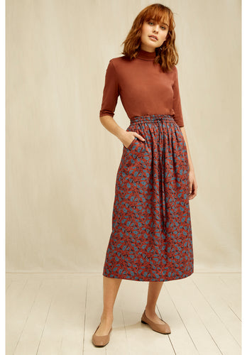 Fair Trade Tencel Print Skirt