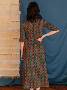 Aditi Wrap Dress