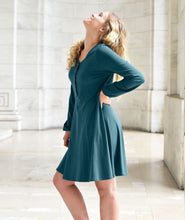 Load image into Gallery viewer, Washington Dress - Teal Ocean