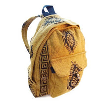Load image into Gallery viewer, Block Print Cotton Backpack