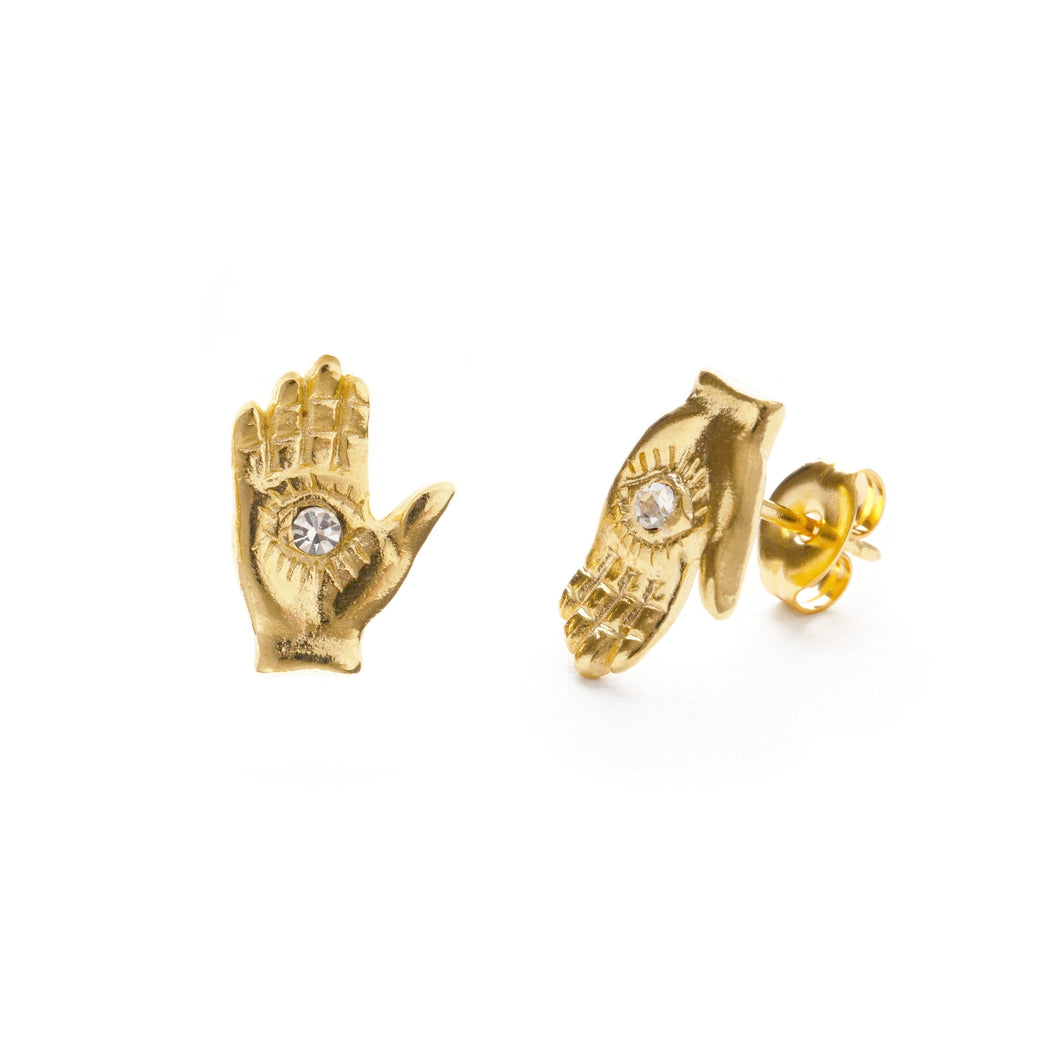 Amano Studio Mystic Hand Stud Earrings