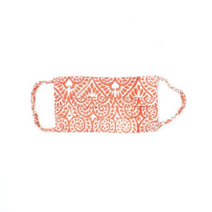 Blockprint Reusable Face Covering