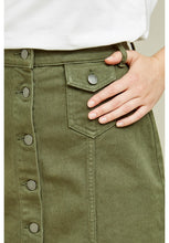 Load image into Gallery viewer, Francine Skirt - Khaki