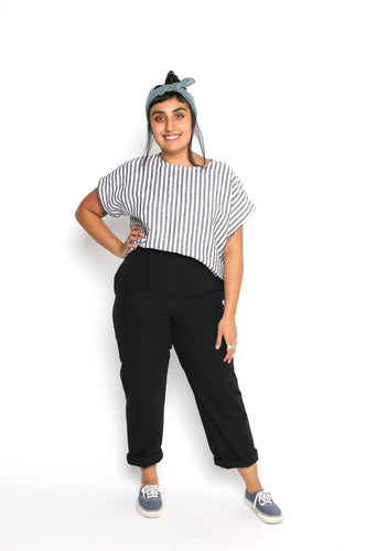 Conscious Clothing Black Palette Pants