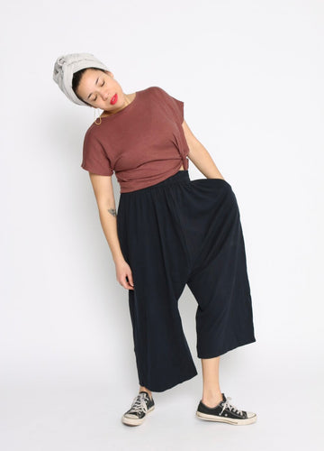 Conscious Clothing Black Hemp Weekend Pants