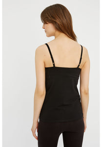 Hidden Support Camisole - Black