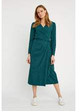 Load image into Gallery viewer, Imogen Wrap Dress - Green