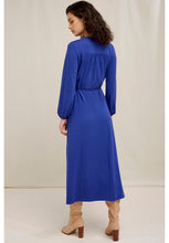 Load image into Gallery viewer, Inga Wrap Dress - Royal Blue