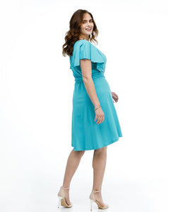 Jane Dress - Cerulean