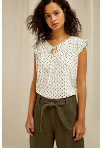 June Olive Top