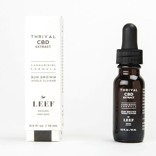 LEEF Organics THRIVAL Liquid Superfood - CBD Extract