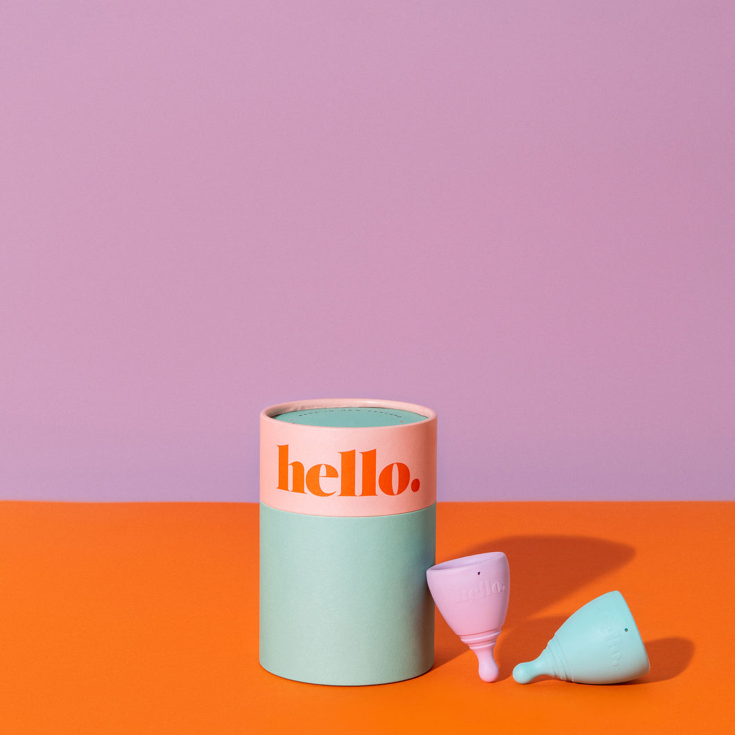 Hello Cup Double Box - XS & S/M