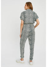 Load image into Gallery viewer, Lisette Snake Print Jumpsuit