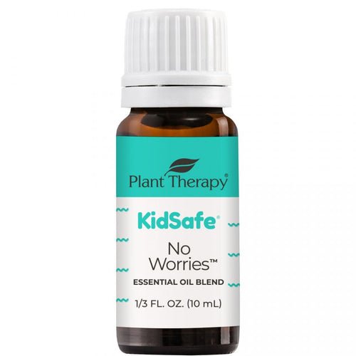 Plant Therapy - Aromatherapy No Worries Kid Safe Essential Oil Blend