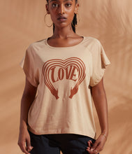 Load image into Gallery viewer, Known Supply - Raglan Love Boho Tee Shirt
