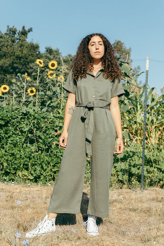 Back Beat Co. Tencel Pajama Suit - Army