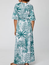 Load image into Gallery viewer, Palm House Maxi Dress