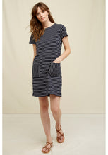 Load image into Gallery viewer, Phoebe Stripe Dress