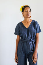 Load image into Gallery viewer, Rachana Jumpsuit - Soft Denim