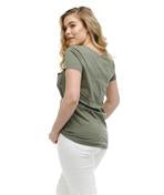 Load image into Gallery viewer, Rose Tee in Olive