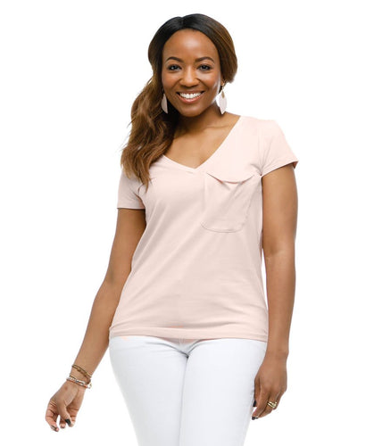 Rose Tee in Sepia Rose