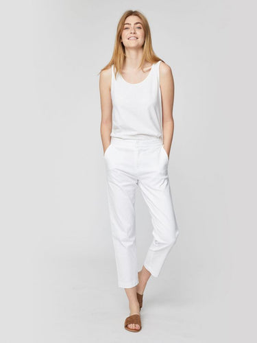Sheng Slacks - White