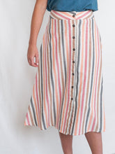 Load image into Gallery viewer, Brighton Skirt - Sunset Stripe