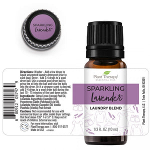 Plant Therapy - Aromatherapy Set of Laundry Essential Oil Blends
