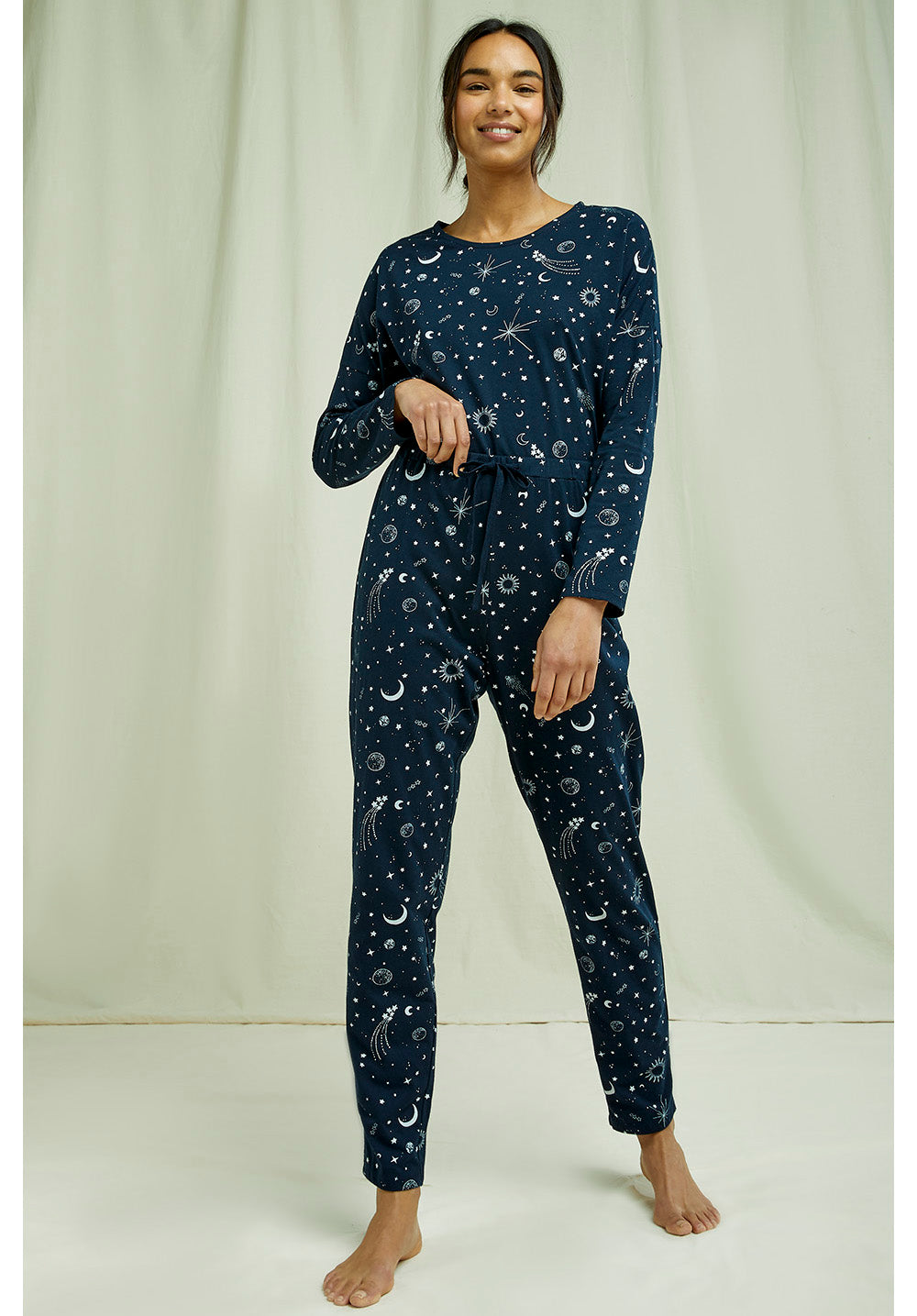 Organic Cotton Starlight Pajama Trousers - People Tree