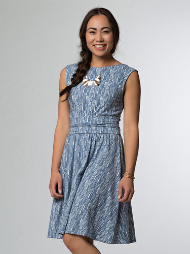 Shoreline Dress - Steel Blue