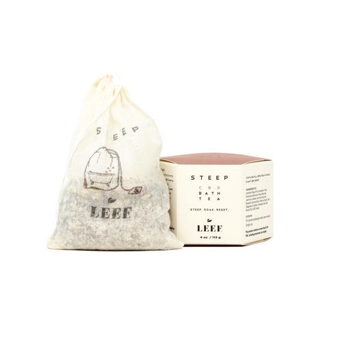 STEEP CBD Bath Tea | LEEF Organics