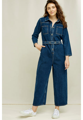 People Tree Thea Denim Boilersuit