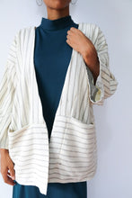 Load image into Gallery viewer, Handwoven 3/4 Sleeve Jacket